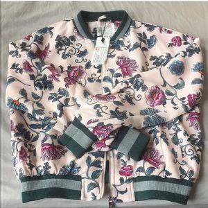 Cotton On Floral Bomber Jacket